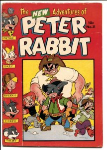 Peter Rabbit #11 1951-Avon-funny animals-puzzle pages-VG