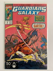 Guardians of The Galaxy #9 Rancor World of Mutants Marvel Comics VF+