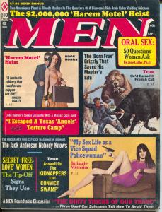 Men 9/1972-Atlas-vice squad police woman-torture-Earl Norem-Bruce Minney-VG