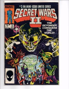 Marvel Comics (1985) Secret Wars II #3