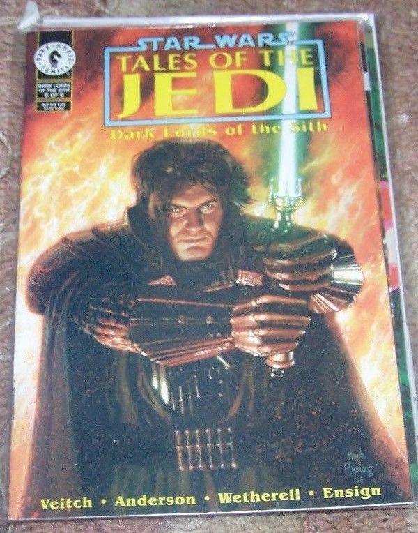 Star Wars: Tales of the Jedi: Dark Lords of the Sith  #6 1995, Dark Horse  JEDI