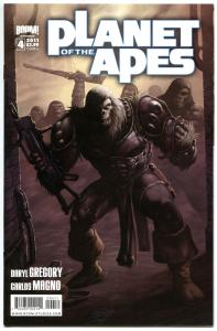 PLANET of the APES #4 A, NM, Damn Dirty Apes, 2011, IDW, more in store