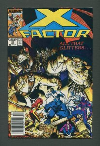 X-Factor #42  / 9.2 NM - 9.4 NM /  Newsstand / July 1989
