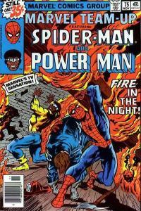Marvel Team-Up (1972 series) #75, Fine- (Stock photo)