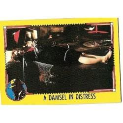 1990 Topps DICK TRACY-A DAMSEL IN DISTRESS #87