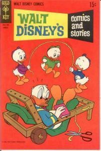 WALT DISNEYS COMICS & STORIES 335 F-VF Aug. 1968 COMICS BOOK