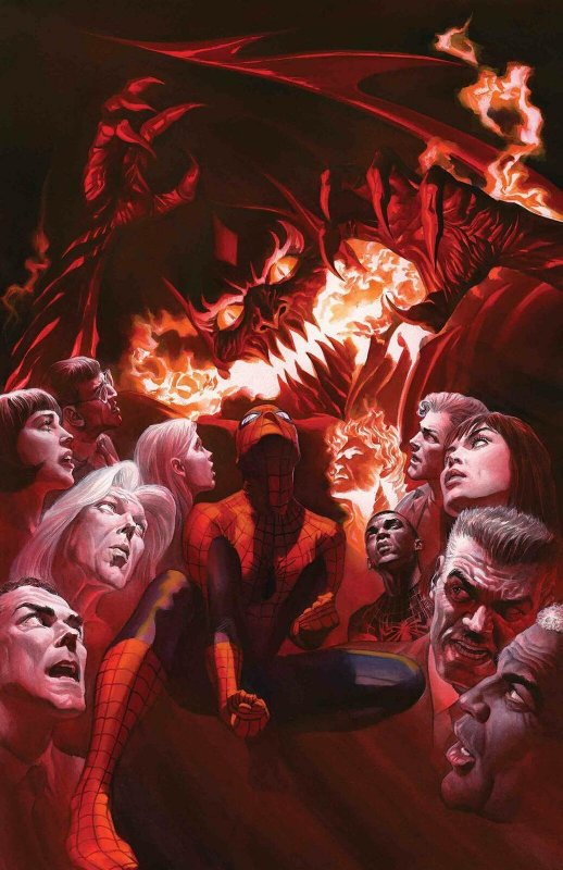 Amazing Spider-Man #800 Poster by Alex Ross (24 x 36) Rolled/New!