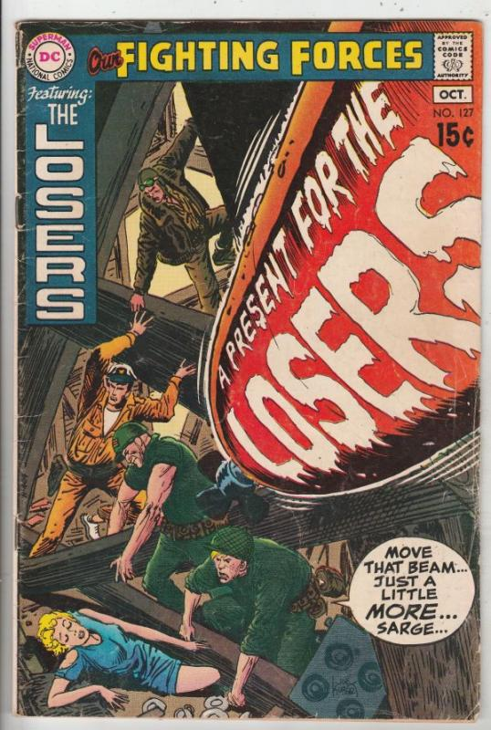 Our Fighting Forces #127 (Oct-70) VG/FN Mid-Grade The Loosers