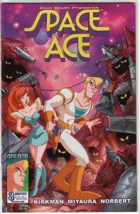 Don Bluth Presents Space Ace #1-3 (set) Kirkman/Borges, Arcana