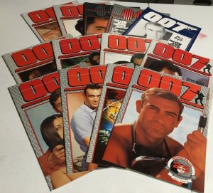 007 James Bond Fan Club Issue 14-26 Magazine Oversized
