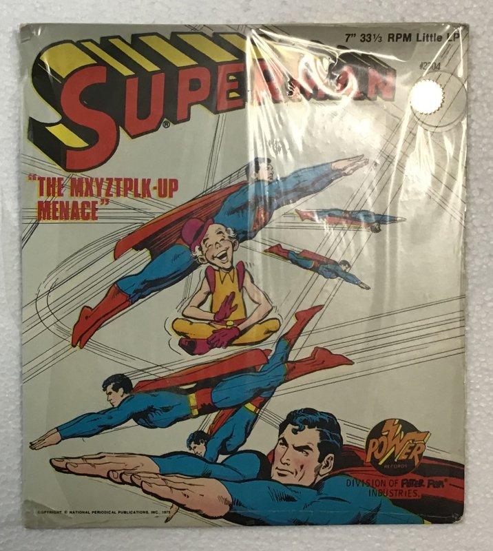 "Superman: ""The MXYZTPLK-Up Menace"" record #2304"