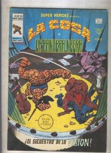 Super Heroes volumen 2 numero 102: La Cosa y La Pantera Negra (numerado 2 en ...