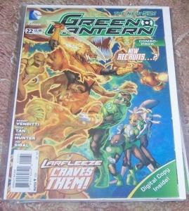 Green Lantern #22 2013, DC new 52+ digital combo pack simon baz rebirth HOT