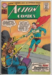 Action Comics #291 (Aug-62) VF/NM- High-Grade Superman, Supergirl