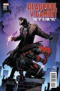 Deadpool v Gambit #2 Cover B Variant Larry Stroman Cover. NM Marvel Comic