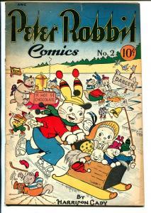 Peter Rabbit #2 1948-Avon-Harrison Cady-VG
