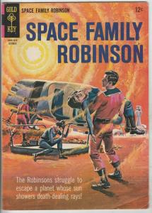 Space Family Robinson, Lost in Space #14 (Oct-65) FN/VF Mid-High-Grade Will R...