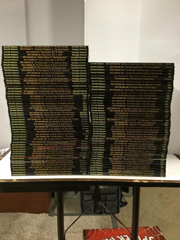 Doc Savage 1-78 Pulp Reprints W/ Variant Covers Nostalgia Ventures Sanctum Books