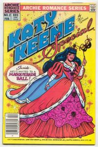Katy Keene Special #2 1984- Archie- Masquerade Ball FN+
