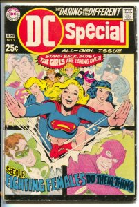 DC Special #3 1969-DC-All Girl Special-Supergirl-Wonder Woman vs Cheetah-Star...