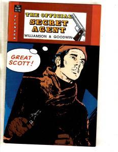 7 Comics Secret Agent 6 Classics Valiant 1 Warrior 34 40 Ripclaw 1 Holmes 8 J323