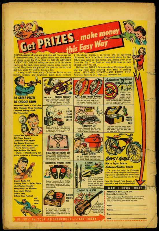 Lawbreakers Suspense Stories #15 1953- Charlton Acid Torture cover