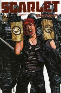 Scarlet #4 VF; Icon | save on shipping - details inside