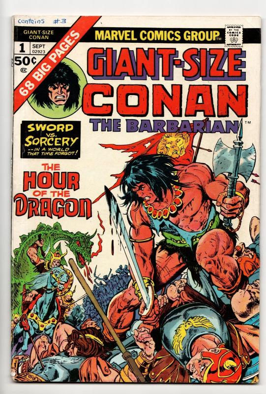 Conan the Barbarian Giant-Size #1 (Marvel, 1973) FN
