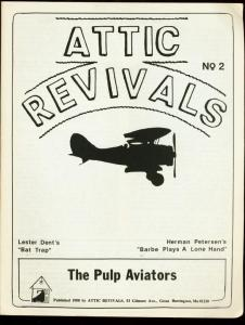 ATTIC REVIVALS #2-1980-LESTER DENT-PULPS VG/FN