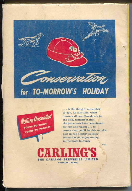 Super Science Stories 11/1950-Popular-Canadian-Poul Anderson-sci-fi fanzines-FN