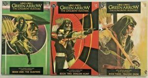 GREEN ARROW LONGBOW HUNTERS#1-3 VF/NM LOT 1987 MIKE GRELL DC COMICS