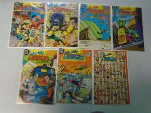 Who's Who in the Legion of Super-Heroes set #1-7 8.0 VF (1988)