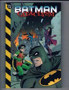 Batman Cataclysm DC Comics TPB Graphic Novel 1st Print NM Nightwing Robin J74