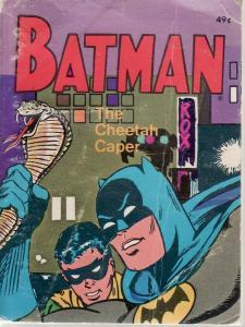 BATMAN: THE CHEETAH CAPER-BIG LITTLE BOOK-WHITMAN-5771 VG