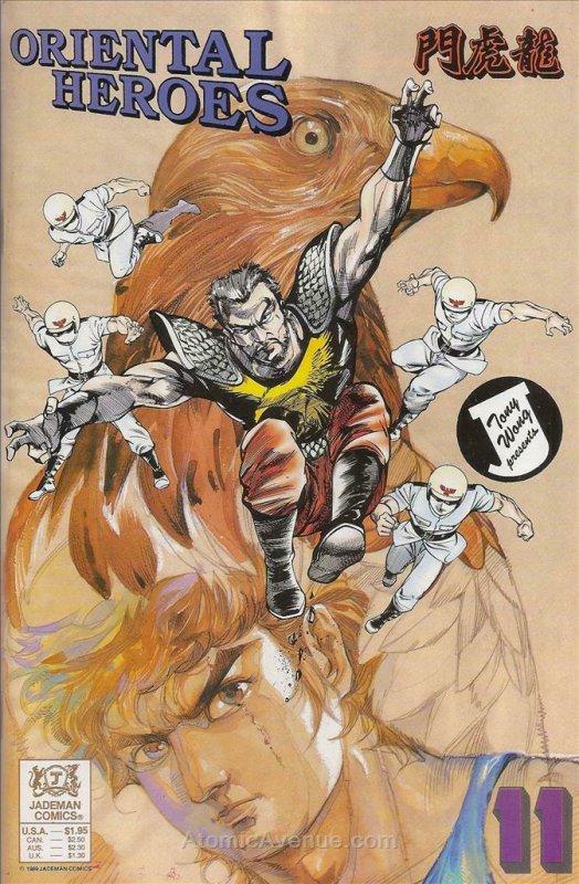 Oriental Heroes #11 VF/NM; Jademan | save on shipping - details inside