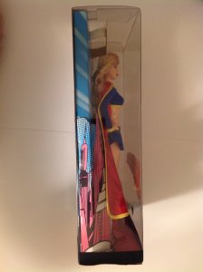 Barbie Collector Silver Label Supergirl doll Mint in sealed box 2008