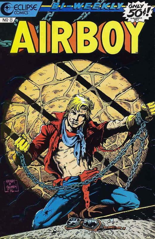 Airboy #8 VF/NM; Eclipse | save on shipping - details inside