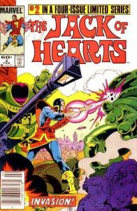 Jack of Hearts #2, VF+ (Stock photo)
