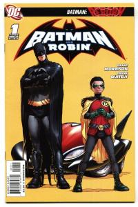 Batman and Robin #1 2009 First issue DC comic book NM-