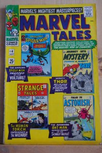 Marvel Tales, 4  1966,  Spiderman, Thor