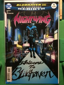 Nightwing #10 DC Universe Rebirth