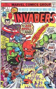 Invaders,The #5 (Mar-76) FN Mid-Grade The Human Torch