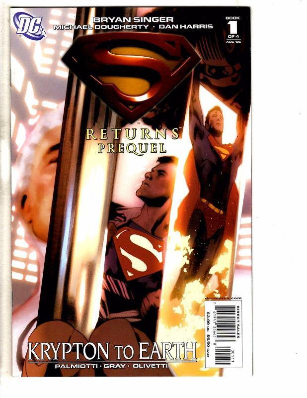 Superman Returns Prequel Complete DC Comics Ltd Series # 1 2