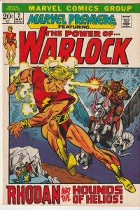 Marvel Premiere # 2  The Power of Adam Warlock !