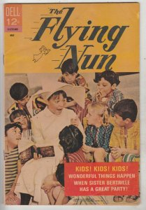 Flying Nun, The #2 (May-68) FN/VF Mid-High-Grade Sister Bertrille (Sally Fields)