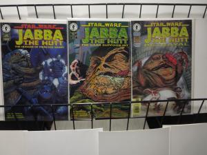 Star Wars Comics Jabba the Hutt Boba Fett Lot of 5 F-VF + better