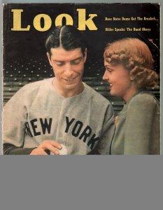Look 10/10/1939-Joe DiMaggio-Hitler-Notre Dame-Alcatraz-G