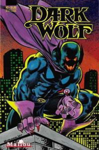 Dark Wolf (Vol. 2) #3 VF/NM; Malibu | save on shipping - details inside