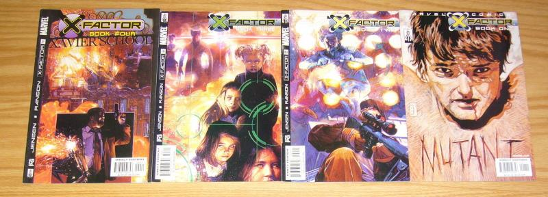 X-Factor vol. 2 #1-4 VF/NM complete series - marvel comics - set lot 2 3