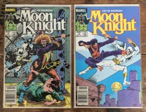 Moon Knight: Fist of Khonshu #4 AND #5 (1985) NM!